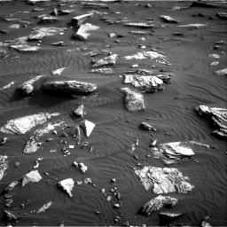 Nasa's Mars rover Curiosity acquired this image using its Right Navigation Camera on Sol 1632, at drive 1752, site number 61