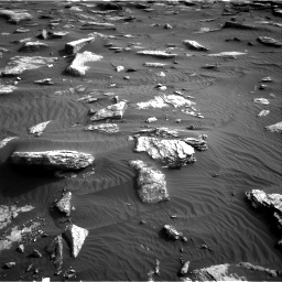 Nasa's Mars rover Curiosity acquired this image using its Right Navigation Camera on Sol 1632, at drive 1758, site number 61