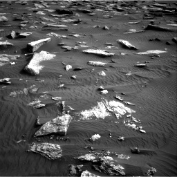 Nasa's Mars rover Curiosity acquired this image using its Right Navigation Camera on Sol 1632, at drive 1770, site number 61