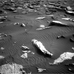 Nasa's Mars rover Curiosity acquired this image using its Right Navigation Camera on Sol 1632, at drive 1824, site number 61