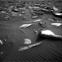 Nasa's Mars rover Curiosity acquired this image using its Right Navigation Camera on Sol 1632, at drive 1842, site number 61