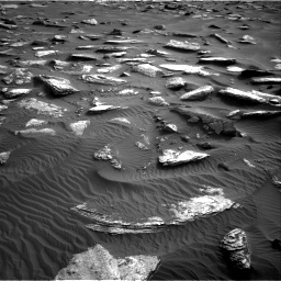 Nasa's Mars rover Curiosity acquired this image using its Right Navigation Camera on Sol 1632, at drive 1860, site number 61