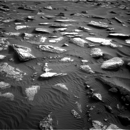 Nasa's Mars rover Curiosity acquired this image using its Right Navigation Camera on Sol 1632, at drive 1878, site number 61