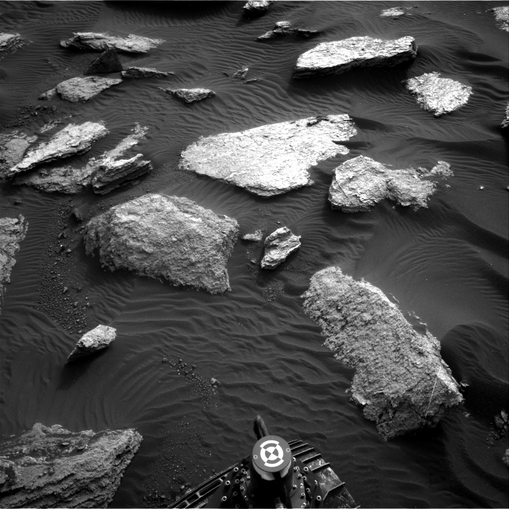 Nasa's Mars rover Curiosity acquired this image using its Right Navigation Camera on Sol 1632, at drive 1908, site number 61
