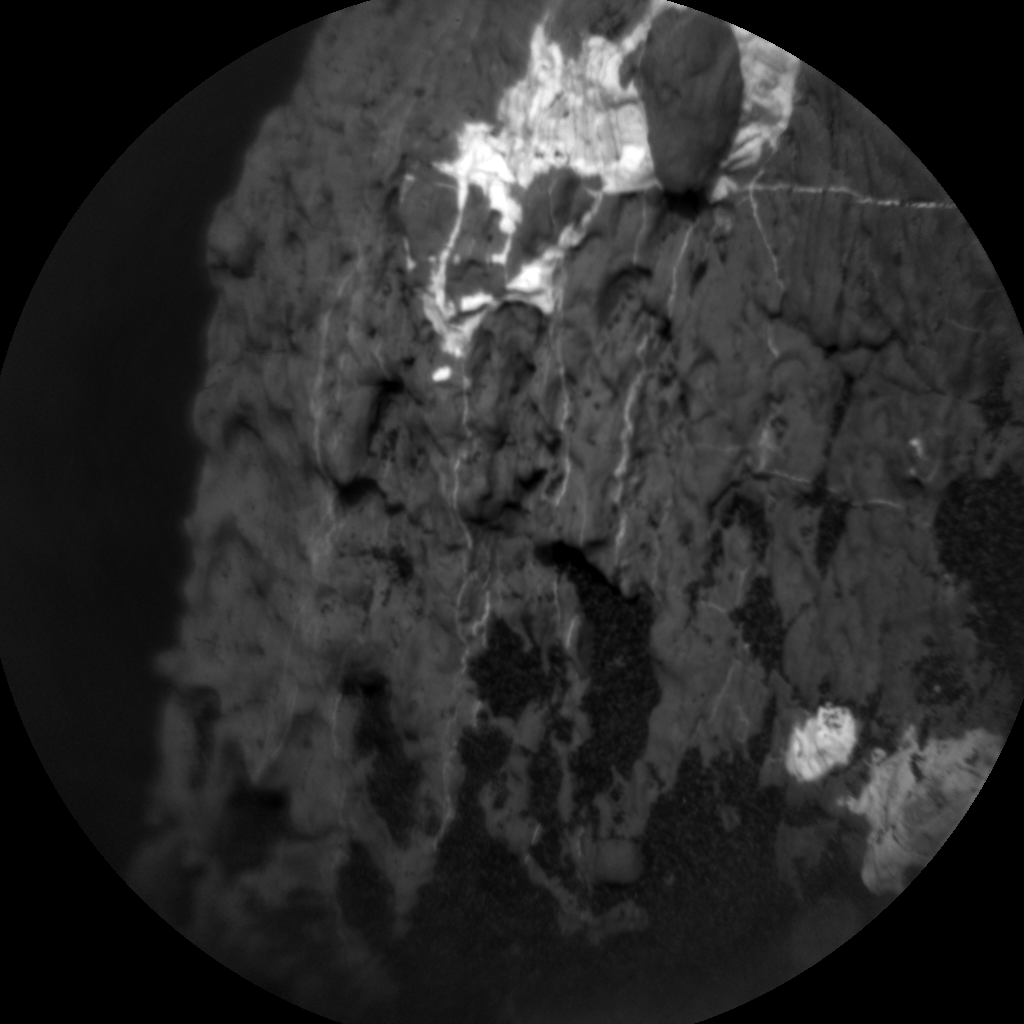 Nasa's Mars rover Curiosity acquired this image using its Chemistry & Camera (ChemCam) on Sol 1633, at drive 1908, site number 61