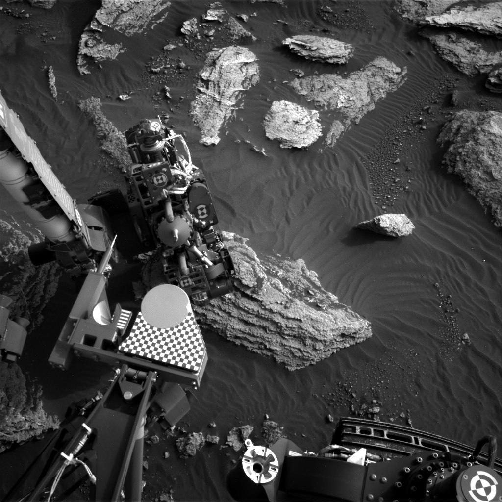 Nasa's Mars rover Curiosity acquired this image using its Right Navigation Camera on Sol 1634, at drive 1908, site number 61