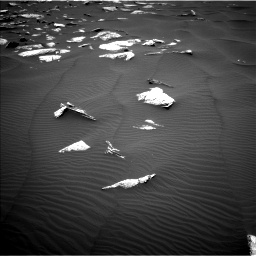Nasa's Mars rover Curiosity acquired this image using its Left Navigation Camera on Sol 1635, at drive 1974, site number 61