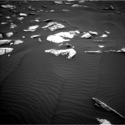 Nasa's Mars rover Curiosity acquired this image using its Left Navigation Camera on Sol 1635, at drive 1998, site number 61