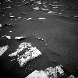 Nasa's Mars rover Curiosity acquired this image using its Left Navigation Camera on Sol 1635, at drive 2028, site number 61