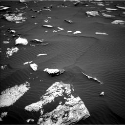 Nasa's Mars rover Curiosity acquired this image using its Left Navigation Camera on Sol 1635, at drive 2034, site number 61