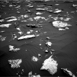 Nasa's Mars rover Curiosity acquired this image using its Left Navigation Camera on Sol 1635, at drive 2070, site number 61