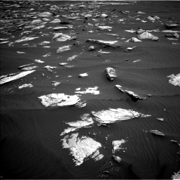 Nasa's Mars rover Curiosity acquired this image using its Left Navigation Camera on Sol 1635, at drive 2142, site number 61