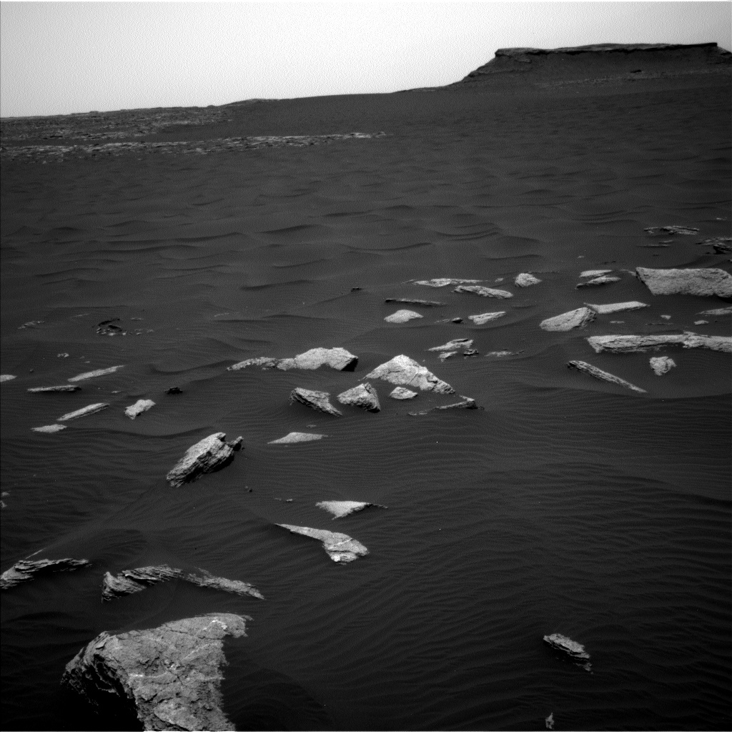 Nasa's Mars rover Curiosity acquired this image using its Left Navigation Camera on Sol 1635, at drive 2148, site number 61