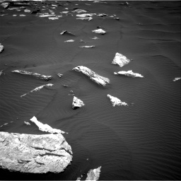 Nasa's Mars rover Curiosity acquired this image using its Right Navigation Camera on Sol 1635, at drive 1944, site number 61