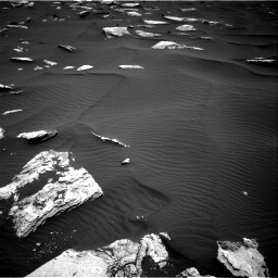 Nasa's Mars rover Curiosity acquired this image using its Right Navigation Camera on Sol 1635, at drive 2028, site number 61