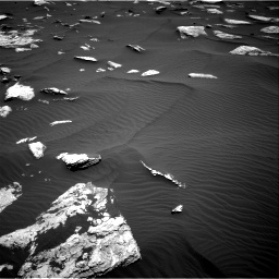 Nasa's Mars rover Curiosity acquired this image using its Right Navigation Camera on Sol 1635, at drive 2034, site number 61