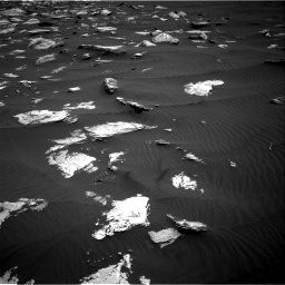 Nasa's Mars rover Curiosity acquired this image using its Right Navigation Camera on Sol 1635, at drive 2130, site number 61