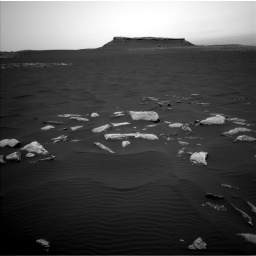 Nasa's Mars rover Curiosity acquired this image using its Left Navigation Camera on Sol 1636, at drive 2160, site number 61