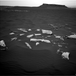 Nasa's Mars rover Curiosity acquired this image using its Left Navigation Camera on Sol 1636, at drive 2172, site number 61
