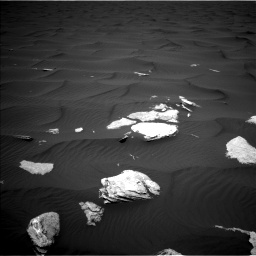 Nasa's Mars rover Curiosity acquired this image using its Left Navigation Camera on Sol 1636, at drive 2202, site number 61