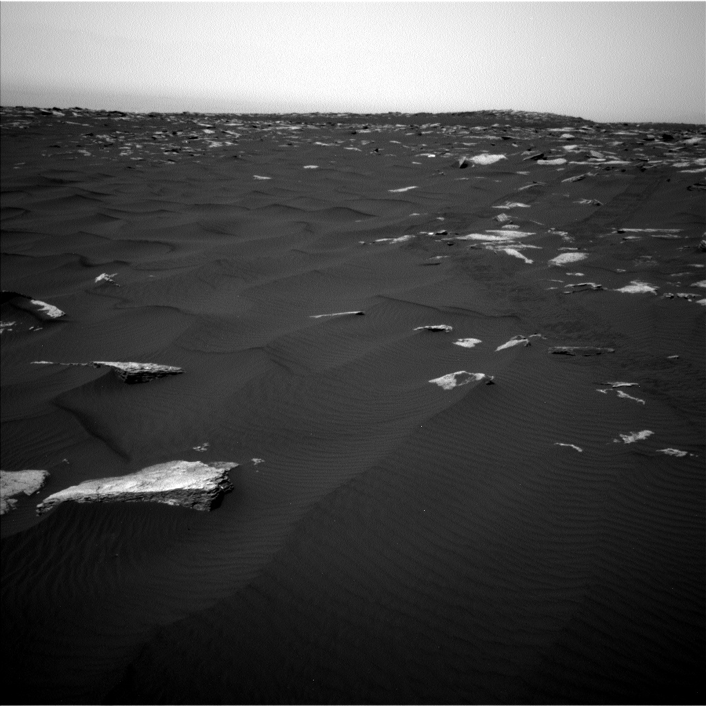 Nasa's Mars rover Curiosity acquired this image using its Left Navigation Camera on Sol 1636, at drive 2232, site number 61