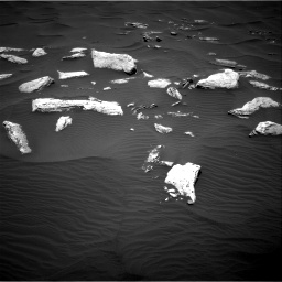 Nasa's Mars rover Curiosity acquired this image using its Right Navigation Camera on Sol 1636, at drive 2184, site number 61