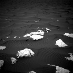 Nasa's Mars rover Curiosity acquired this image using its Right Navigation Camera on Sol 1636, at drive 2202, site number 61
