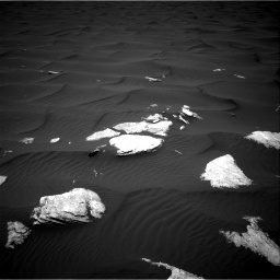 Nasa's Mars rover Curiosity acquired this image using its Right Navigation Camera on Sol 1636, at drive 2208, site number 61