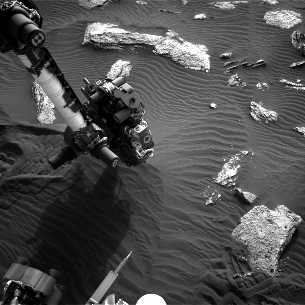 NASA's Mars rover Curiosity acquired this image using its Right Navigation Cameras (Navcams) on Sol 1637