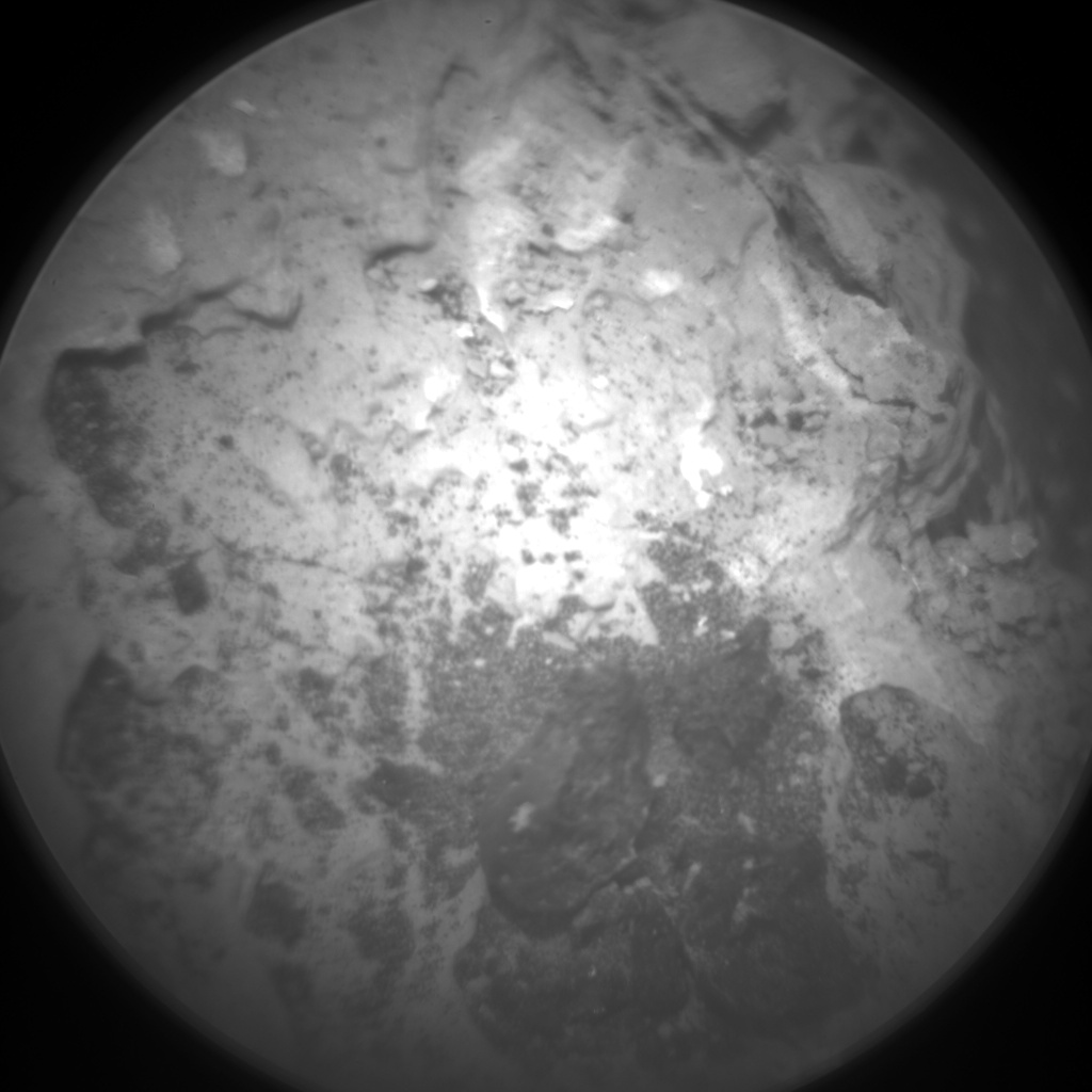 Nasa's Mars rover Curiosity acquired this image using its Chemistry & Camera (ChemCam) on Sol 1638, at drive 2232, site number 61