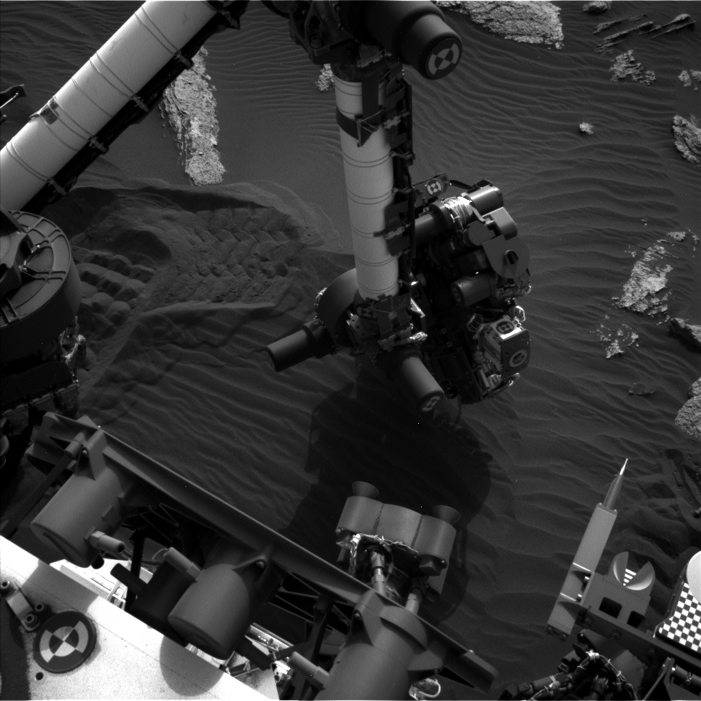 Nasa's Mars rover Curiosity acquired this image using its Left Navigation Camera on Sol 1638, at drive 2232, site number 61