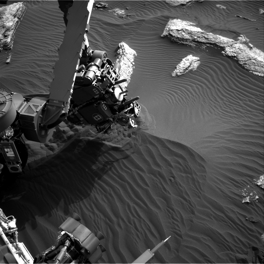 Nasa's Mars rover Curiosity acquired this image using its Right Navigation Camera on Sol 1638, at drive 2232, site number 61