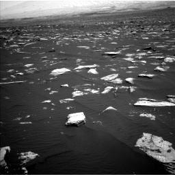 Nasa's Mars rover Curiosity acquired this image using its Left Navigation Camera on Sol 1639, at drive 2268, site number 61