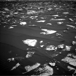 Nasa's Mars rover Curiosity acquired this image using its Left Navigation Camera on Sol 1639, at drive 2340, site number 61
