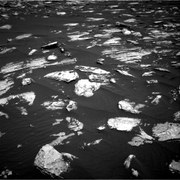 Nasa's Mars rover Curiosity acquired this image using its Right Navigation Camera on Sol 1639, at drive 2304, site number 61