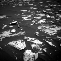 Nasa's Mars rover Curiosity acquired this image using its Right Navigation Camera on Sol 1639, at drive 2316, site number 61