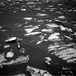 Nasa's Mars rover Curiosity acquired this image using its Right Navigation Camera on Sol 1639, at drive 2322, site number 61