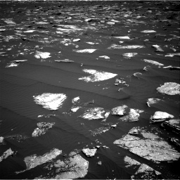 Nasa's Mars rover Curiosity acquired this image using its Right Navigation Camera on Sol 1639, at drive 2340, site number 61