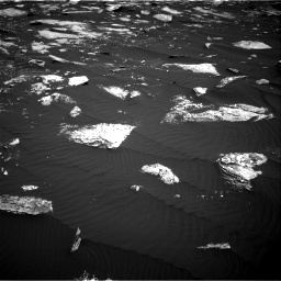 Nasa's Mars rover Curiosity acquired this image using its Right Navigation Camera on Sol 1639, at drive 2370, site number 61
