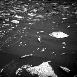 Nasa's Mars rover Curiosity acquired this image using its Right Navigation Camera on Sol 1639, at drive 2412, site number 61