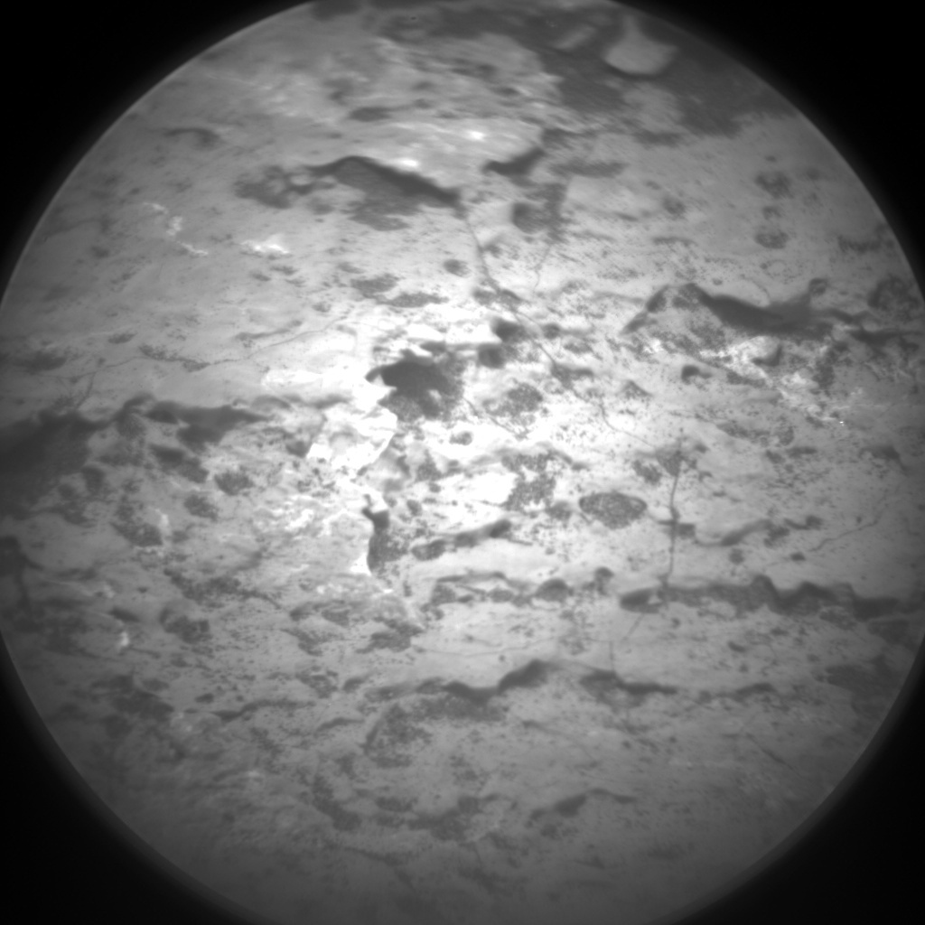 NASA's Mars rover Curiosity acquired this image using its Chemistry & Camera (ChemCam) on Sol 1640
