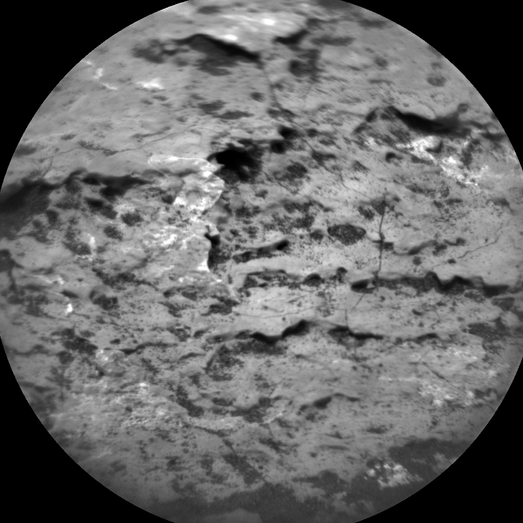 Nasa's Mars rover Curiosity acquired this image using its Chemistry & Camera (ChemCam) on Sol 1640, at drive 2472, site number 61