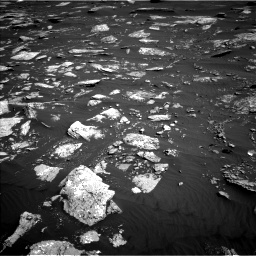 Nasa's Mars rover Curiosity acquired this image using its Left Navigation Camera on Sol 1641, at drive 2478, site number 61
