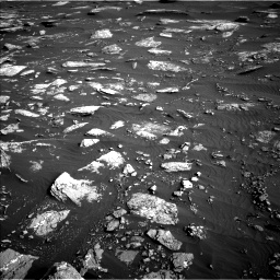 Nasa's Mars rover Curiosity acquired this image using its Left Navigation Camera on Sol 1641, at drive 2496, site number 61
