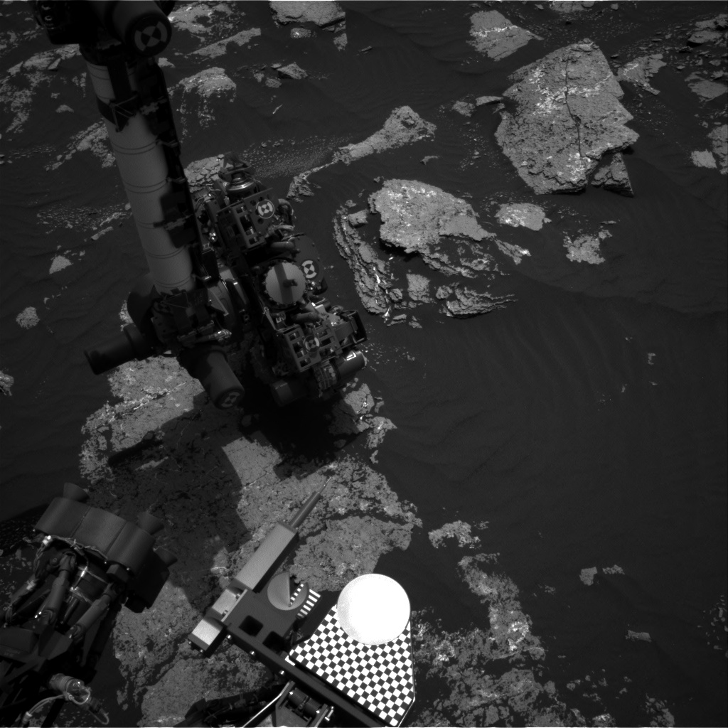 Nasa's Mars rover Curiosity acquired this image using its Right Navigation Camera on Sol 1641, at drive 2472, site number 61