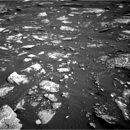 NASA's Mars rover Curiosity acquired this image using its Right Navigation Cameras (Navcams) on Sol 1641