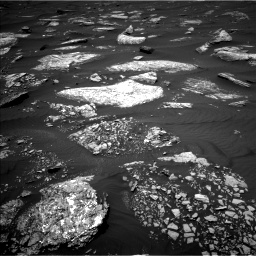 Nasa's Mars rover Curiosity acquired this image using its Left Navigation Camera on Sol 1642, at drive 2520, site number 61