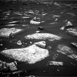Nasa's Mars rover Curiosity acquired this image using its Left Navigation Camera on Sol 1642, at drive 2532, site number 61