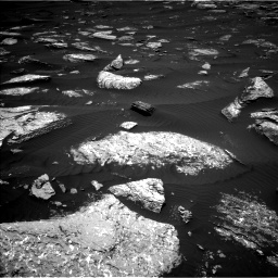 Nasa's Mars rover Curiosity acquired this image using its Left Navigation Camera on Sol 1642, at drive 2538, site number 61