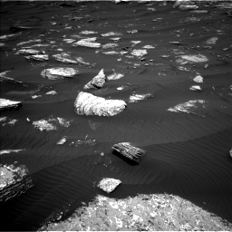 Nasa's Mars rover Curiosity acquired this image using its Left Navigation Camera on Sol 1642, at drive 2550, site number 61